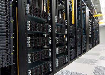 Professionally managed, modern datacenters
